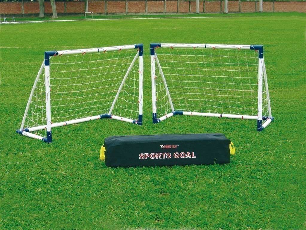 fu balltor set mini soccer goal 16 set 2 tore fussball tor ebay. Black Bedroom Furniture Sets. Home Design Ideas