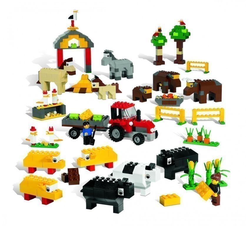 lego tiere set 9334 lego bausteine lego spezialsteine 1081 tlg ab 4 jahre neu ebay. Black Bedroom Furniture Sets. Home Design Ideas