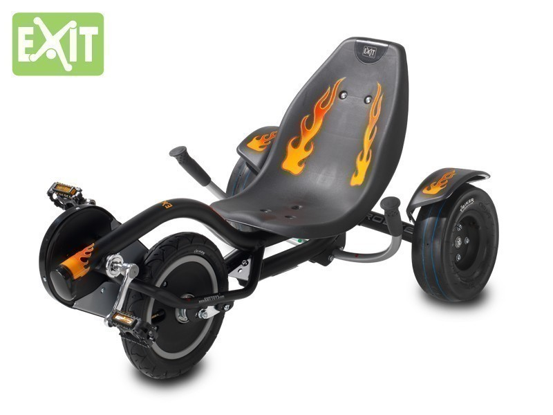 exit triker rocker fire kinder trike 6 12 jahre liegerad. Black Bedroom Furniture Sets. Home Design Ideas