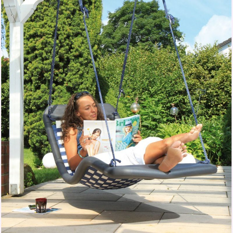 relax schaukel dreamlinerstandard l schwarz gartenschaukel. Black Bedroom Furniture Sets. Home Design Ideas