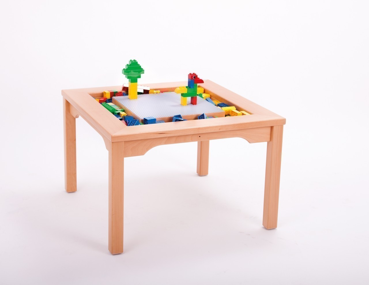 lego duplo spieltisch 30051000 holz tisch kindertisch. Black Bedroom Furniture Sets. Home Design Ideas
