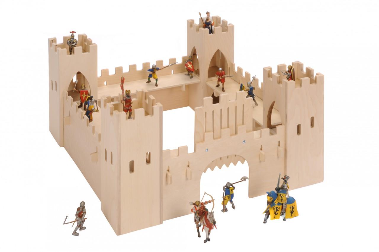 Burg Bauen Kinder ~ Kreative Ideen über Home Design