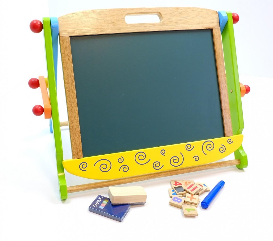 tavolo da tavola lavagna magnetica bambini lavagna gesso. Black Bedroom Furniture Sets. Home Design Ideas