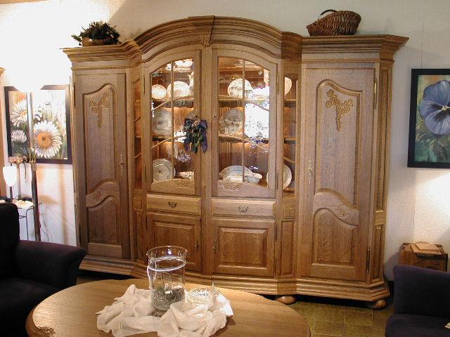 Schrank Florenz / Bogenschrank / Massives Eichenmöbel