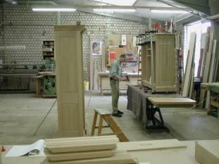 Herstellung unserer Eichenmöbel und Massivholzmöbel