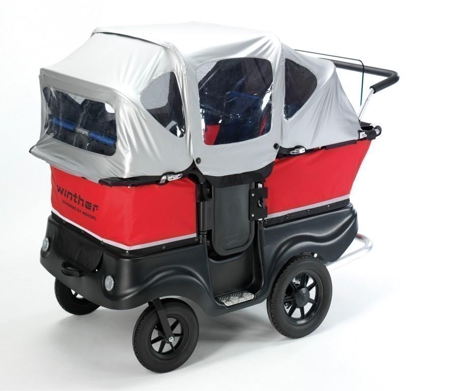 turtle kinderbus de luxe f r 4 kinder belastbarkeit bis. Black Bedroom Furniture Sets. Home Design Ideas