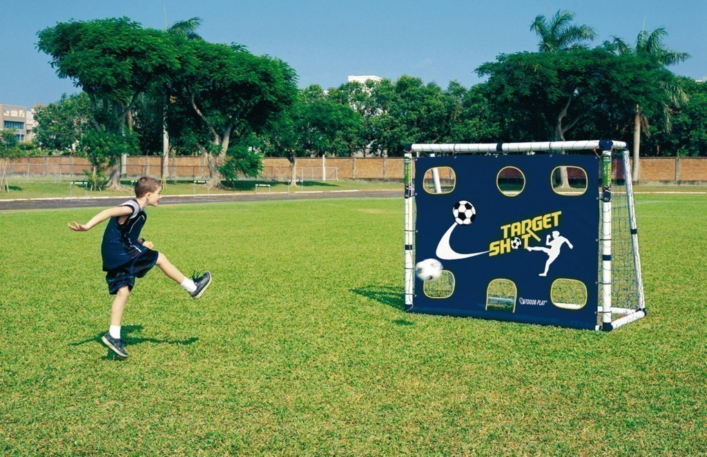 fu balltor torwand 180 cm x 150 cm mini soccer goal 18 torwand f r kinder und jugendliche. Black Bedroom Furniture Sets. Home Design Ideas