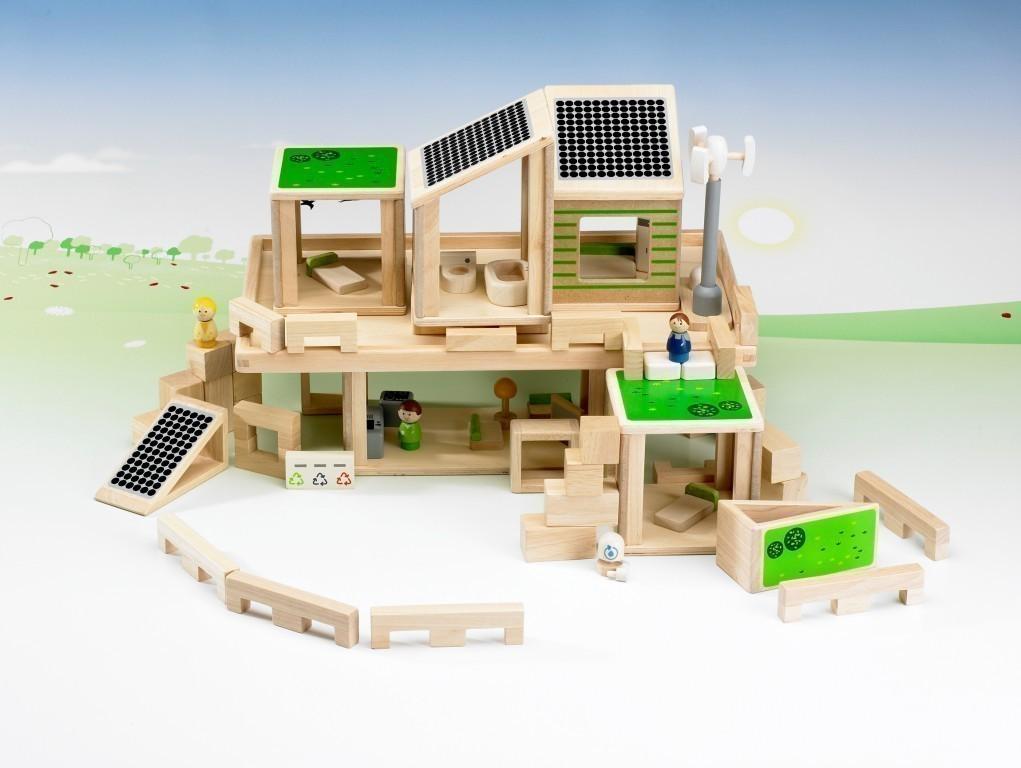 planeducation eco haus f r kinder ab 3 8 jahren geeignet bauen und spielen plan education. Black Bedroom Furniture Sets. Home Design Ideas