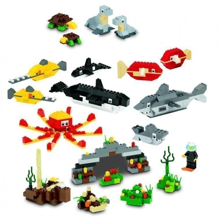 lego tiere set 9334 1081 elemente f r kinder ab 4 jahren. Black Bedroom Furniture Sets. Home Design Ideas