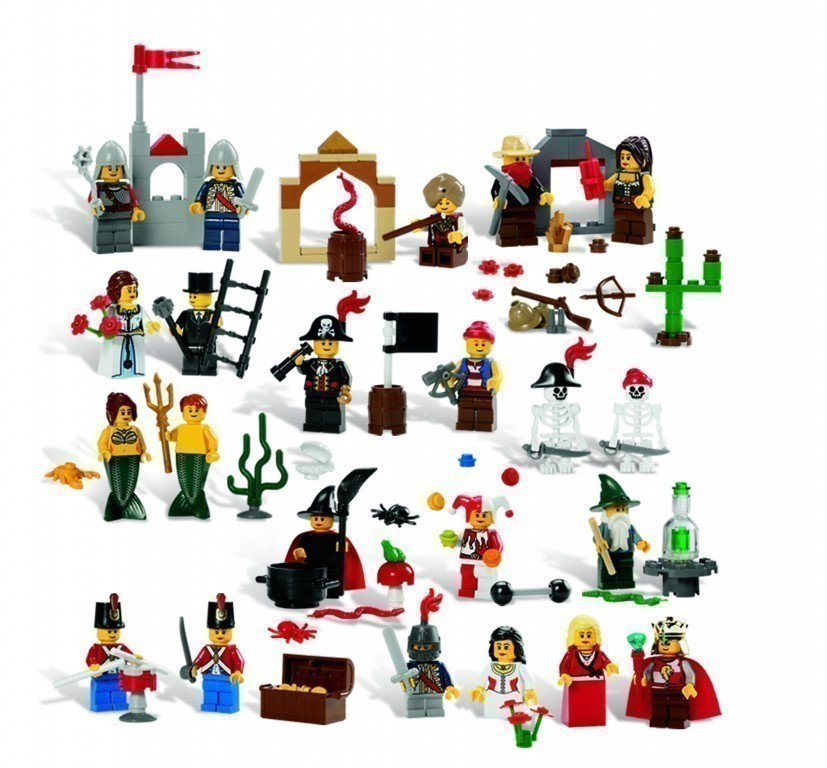 lego m rchen historische figuren set 9349 227 elemente 4 j kreativ rollenspiel ebay. Black Bedroom Furniture Sets. Home Design Ideas