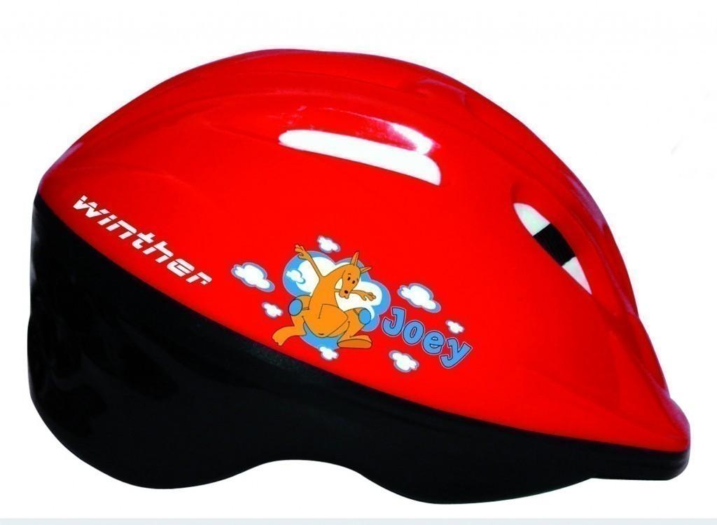 kinder fahrradhelm rot schwarz sicherheitshelm f r. Black Bedroom Furniture Sets. Home Design Ideas