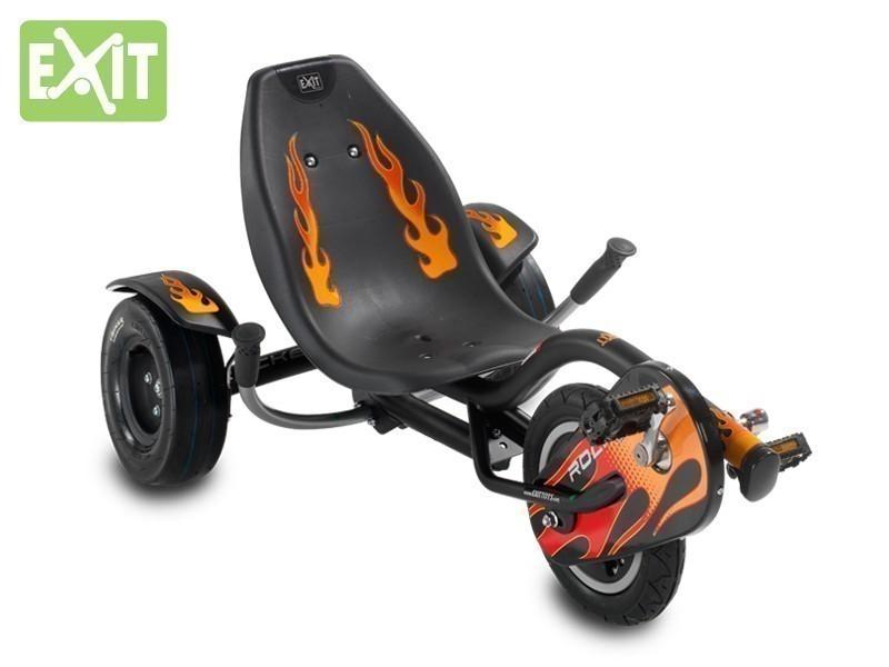 exit triker rocker fire kinder trike max. Black Bedroom Furniture Sets. Home Design Ideas