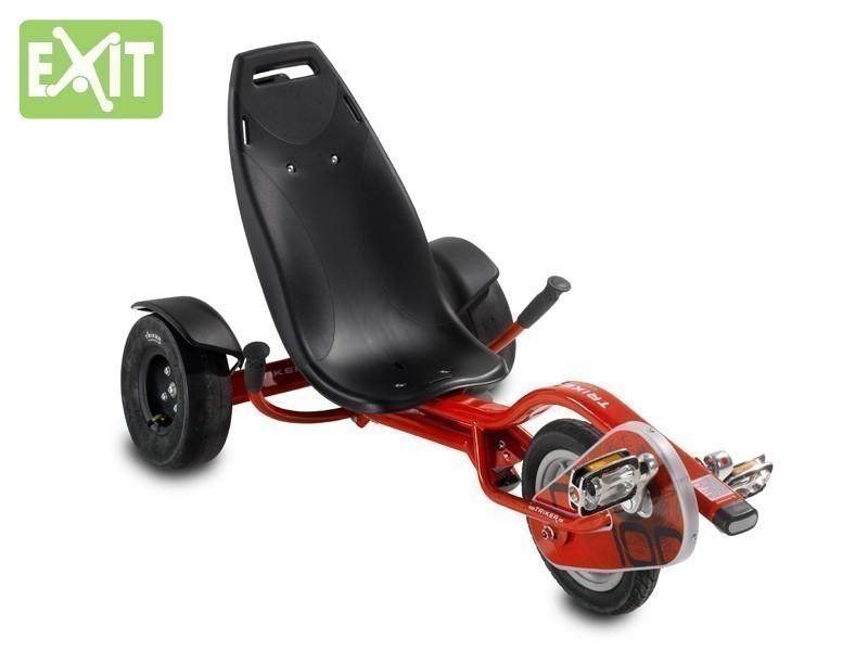 exit triker pro 100 red kinder trike ab 9. Black Bedroom Furniture Sets. Home Design Ideas