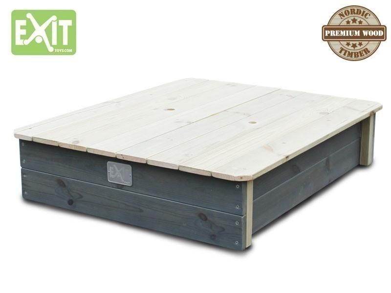exit aksent sandkasten mit deckel inkl zwei. Black Bedroom Furniture Sets. Home Design Ideas