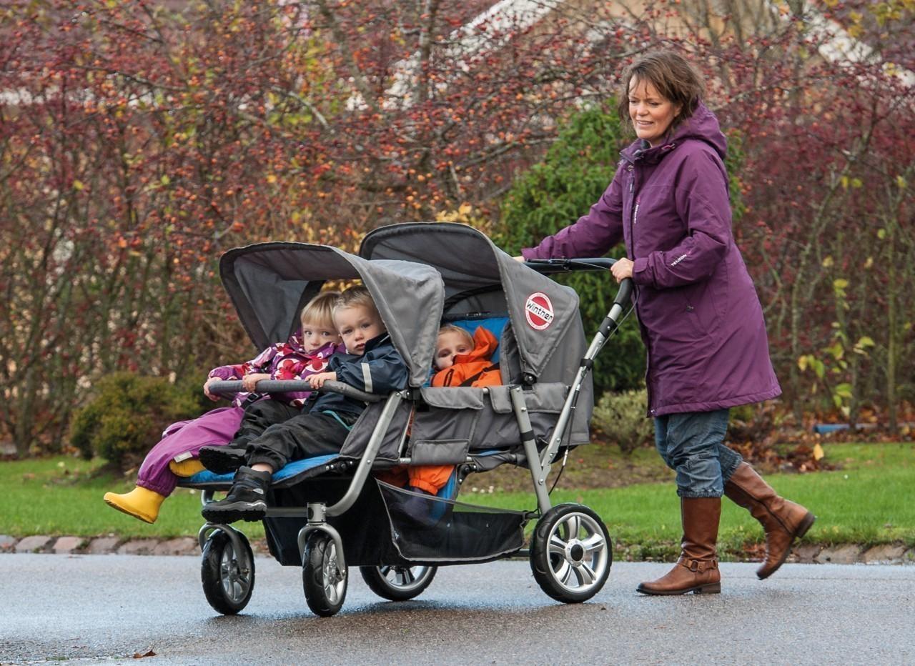buggy 4 kids winther schiebebuggy sportwagen kinderwagen. Black Bedroom Furniture Sets. Home Design Ideas