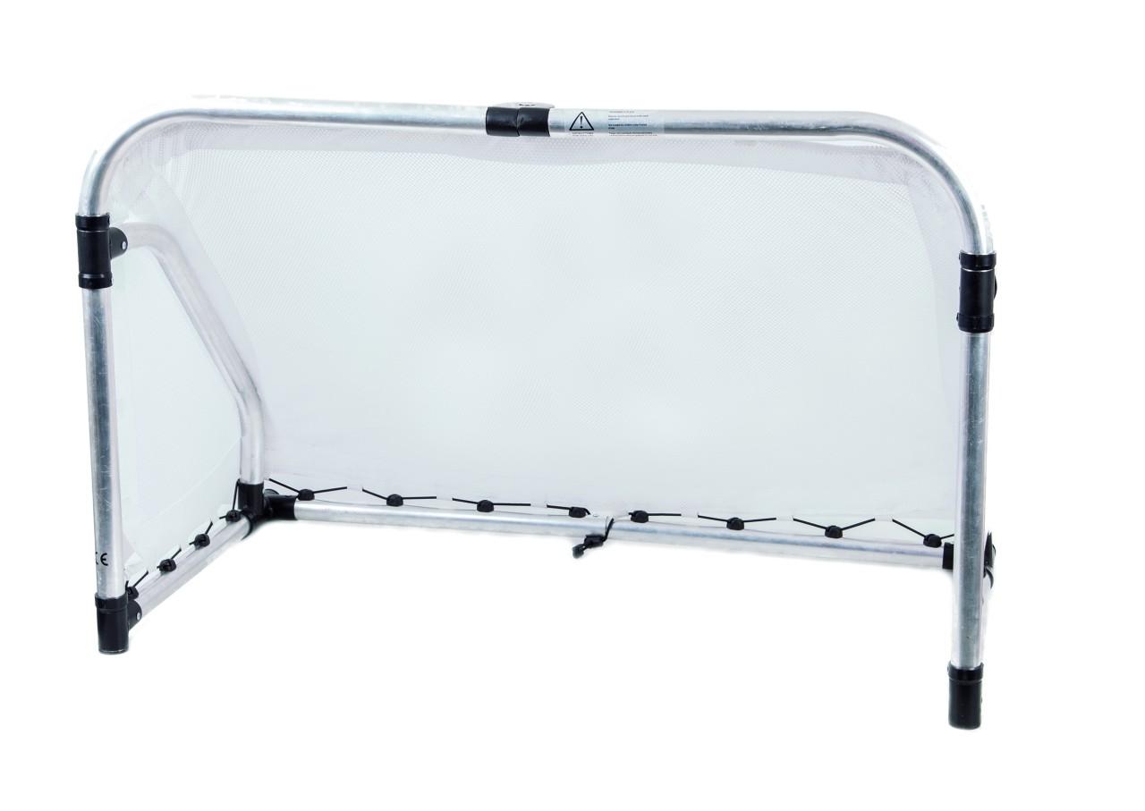 aluminium fu balltor faltbar klein ma e 120 x 80 x 60 cm soccer tor f r drinnen draussen. Black Bedroom Furniture Sets. Home Design Ideas