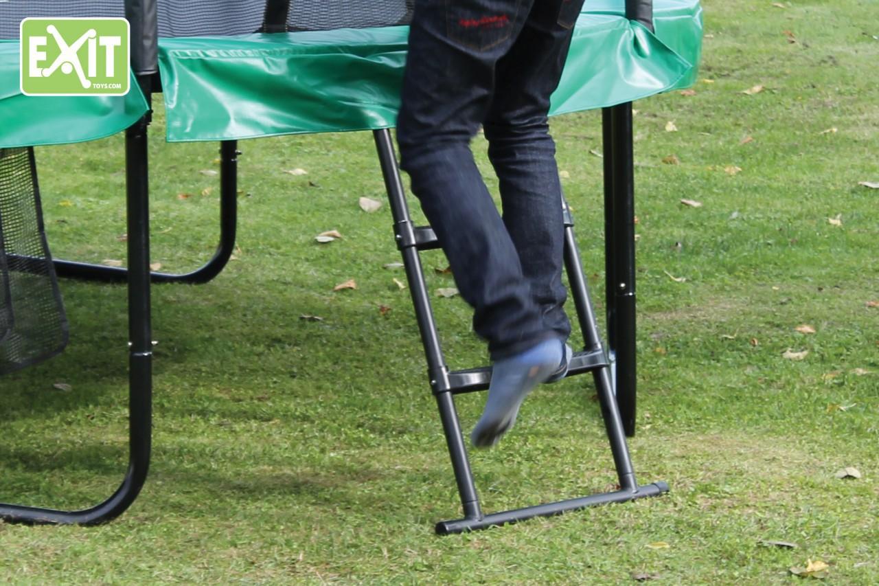 exit leiter s 60 cm passende trittleiter zubeh r f r trampoline mit einer rahmenh he von. Black Bedroom Furniture Sets. Home Design Ideas